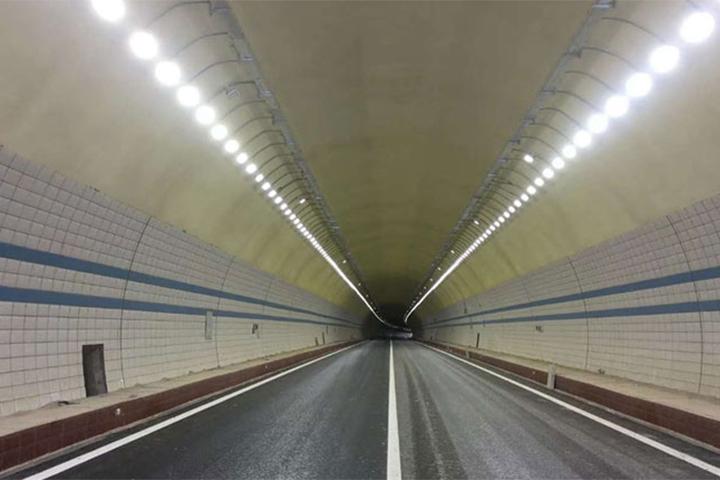 海南琼乐高速隧道灯项目